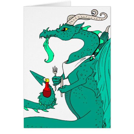 Hungry Dragon Card