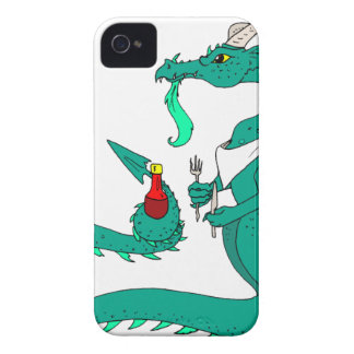 Hungry Dragon Case-Mate iPhone 4 Case
