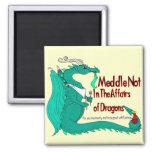 Hungry Dragon Fridge Magnets