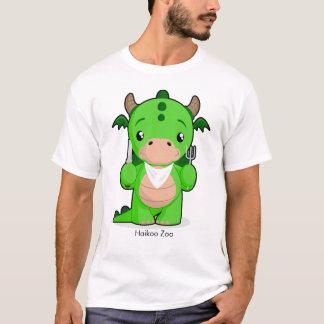 Hungry Dragon Men's Basic 3/4 Sleeve Raglan T-Shirt