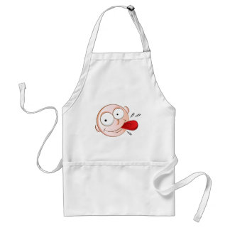 Hungry Emoji Face Adult Apron