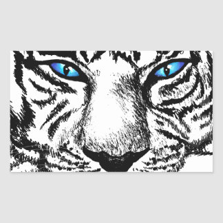 Hungry Eyes Rectangular Stickers