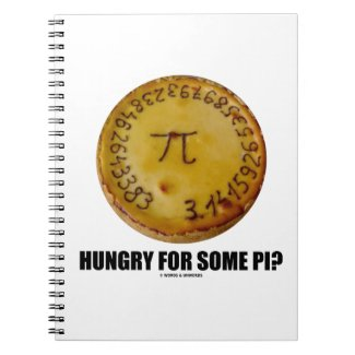 Hungry For Some Pi? (Pi On Baked Pie Humor) Journal