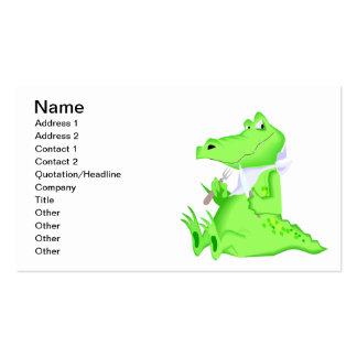 Hungry Gator Business Card