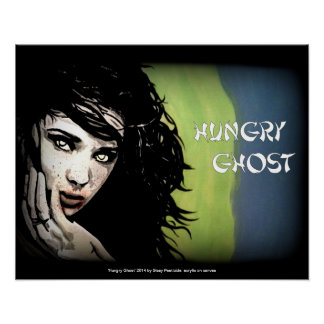 'Hungry Ghost' II on a poster