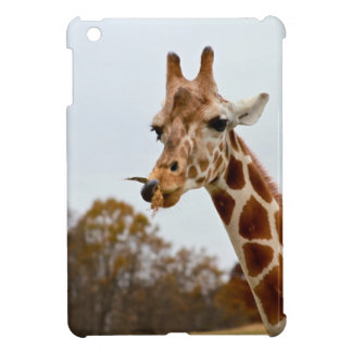Hungry Giraffe Wild Animals Photo Case For The iPad Mini