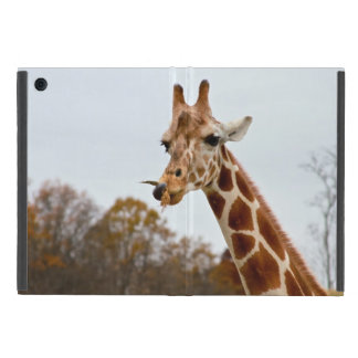 Hungry Giraffe Wild Animals Photo Cover For iPad Mini