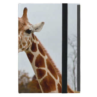 Hungry Giraffe Wild Animals Photo iPad Mini Cover