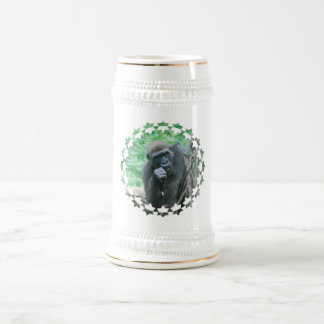 Hungry Gorilla Beer Stein Mug