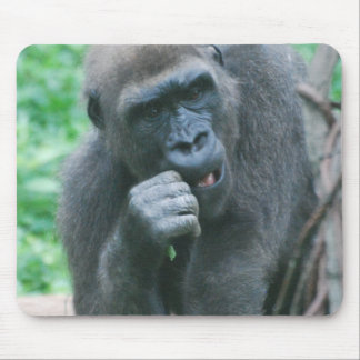 Hungry Gorilla Mouse Pad