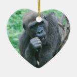 Hungry Gorilla Ornament