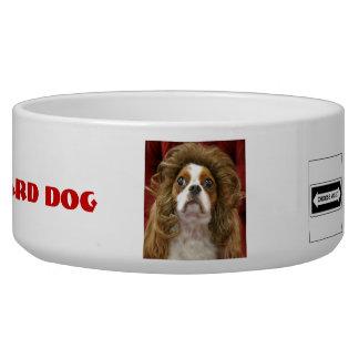 Hungry Guard Dog Pet Bowl