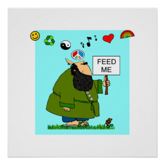 HUNGRY HIPPIE POSTER