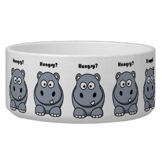 Hungry Hippo Cartoon Bowl