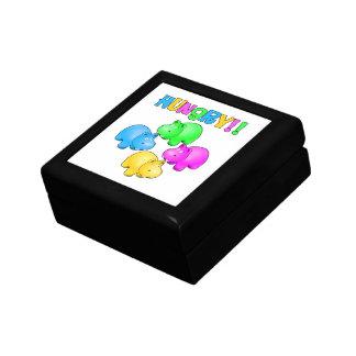 Hungry Hippopotamuses  Design Gift Box