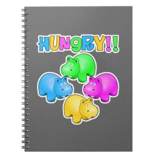 Hungry Hippopotamuses  Design Notebook