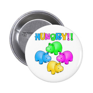 Hungry Hippos 2 Inch Round Button