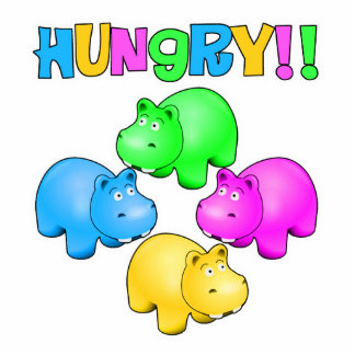 Hungry Hippos Cut Out