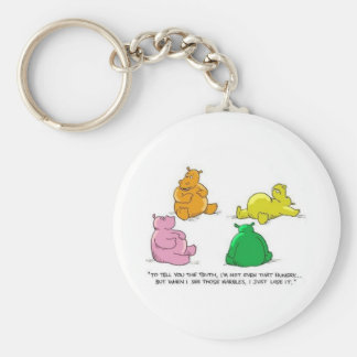 Hungry Hippos! - Keychain