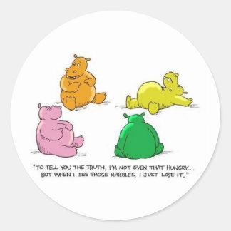 Hungry Hippos! - Sticker