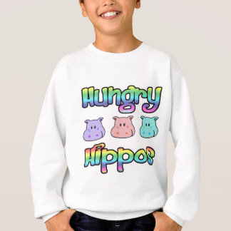 hungry  hippos sweatshirt