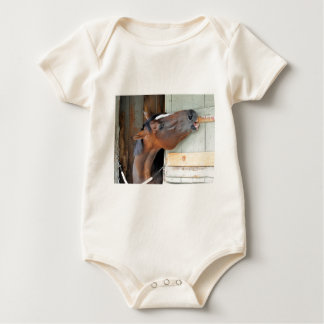 Hungry Horse Baby Bodysuit