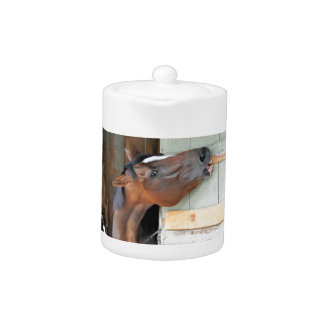 Hungry Horse Teapot