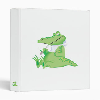 hungry hungry alligator 3 ring binder