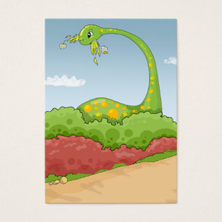 hungry hungry brontosaurus scene business card