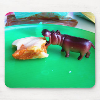 Hungry Hungry Hippo! Mousepad