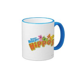 Hungry Hungry Hippos Ringer Coffee Mug