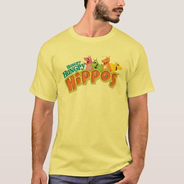 Hungry Hungry Hippos T Shirt Zazzle Com