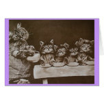 hungry kitties cards