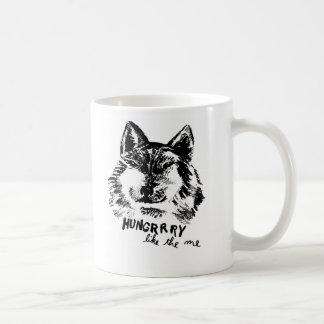 hungry like the wolf coffee mug