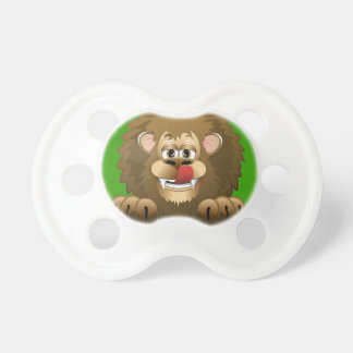 Hungry Lion Cartoon Pacifier
