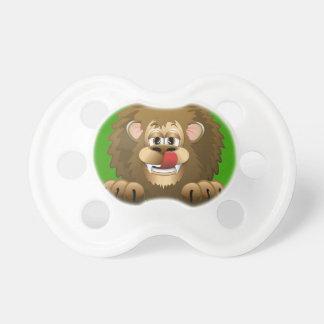 Hungry Lion Cartoon Pacifier