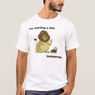 Hungry Lion - I'm Starting a Diet... TOMORROW T-Shirt