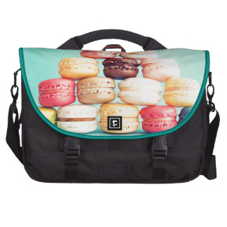 Hungry Macaron hipster,multicolor,sweets cookies Bag For Laptop