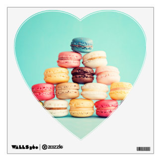 Hungry, Macaron, hipster,multicolor,sweets cookies Wall Skins
