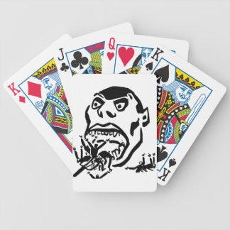 Hungry Man / Moloch a Faim Bicycle Playing Cards