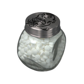 Hungry Man / Moloch a Faim Jelly Belly Candy Jars