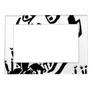 Hungry Man / Moloch a Faim Magnetic Picture Frame