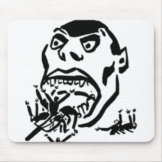 Hungry Man / Moloch a Faim Mouse Pad