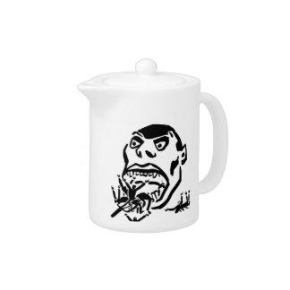 Hungry Man / Moloch a Faim Teapot