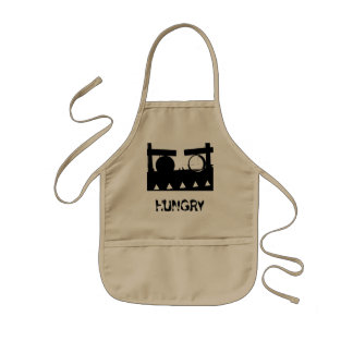 Hungry Monster Kid Apron