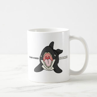 Hungry Orca Coffee Mug