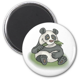 Hungry Panda 2 Inch Round Magnet