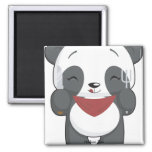 Hungry Panda Magnet