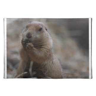 Hungry Prairie Dog Placemats