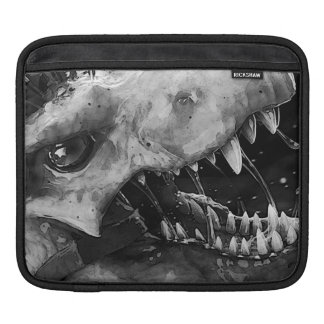 Hungry Predator iPad pad Horizontal iPad Sleeve